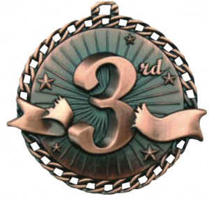 3e plaats