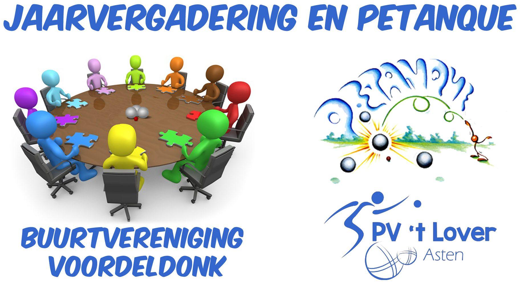 Jaarvergadering 27 maart bij Petanquevereniging 't Lover @ Petanque Vereniging 't Lover | Asten | Noord-Brabant | Nederland