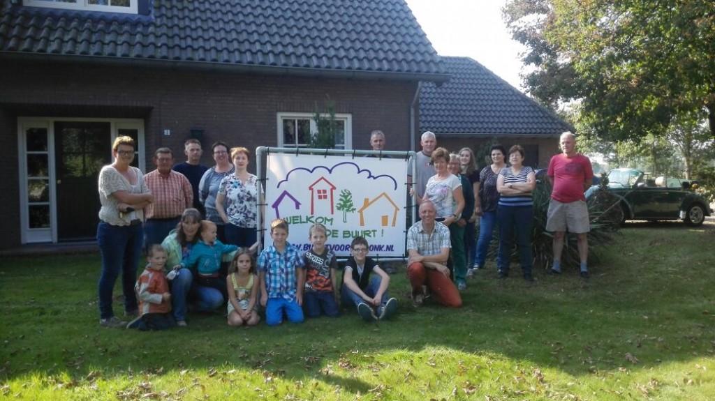 Welkomstbord Fam van Lierop 04-10-2014